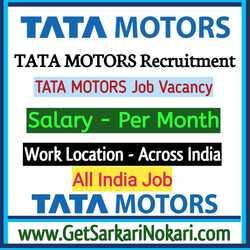 Tata Motors Job in Lucknow