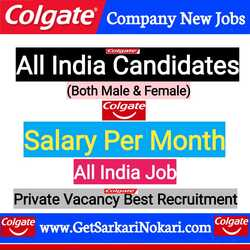 Colgate Company Jobs in India Careers at Latest Bumper Vacancy COLGATE CAREERS INDIA