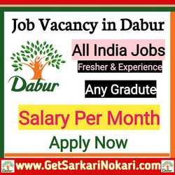 Dabur Company Jobs in Delhi, Dabur Job, Dabur Careers