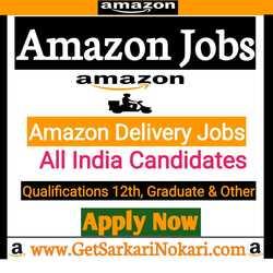 Amazon Delivery Jobs in Chennai Latest Vacancy, Delivery Jobs Chenai