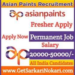 Asian Paints Jobs 2021 Careers Latest Bumper Vacancy, asian pains jobs, asian paints career, asian paints recruitment