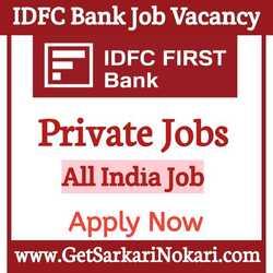 IDFC Bank Careers 2021 Recruitment Apply Online