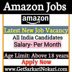 Amazon India Jobs for Freshers, amazon job logo