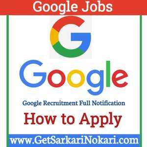 Google Jobs for Freshers | Google Recruitment 2021